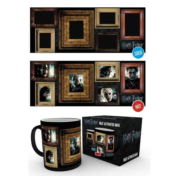 Harry Potter Portraits Heat Change Mug