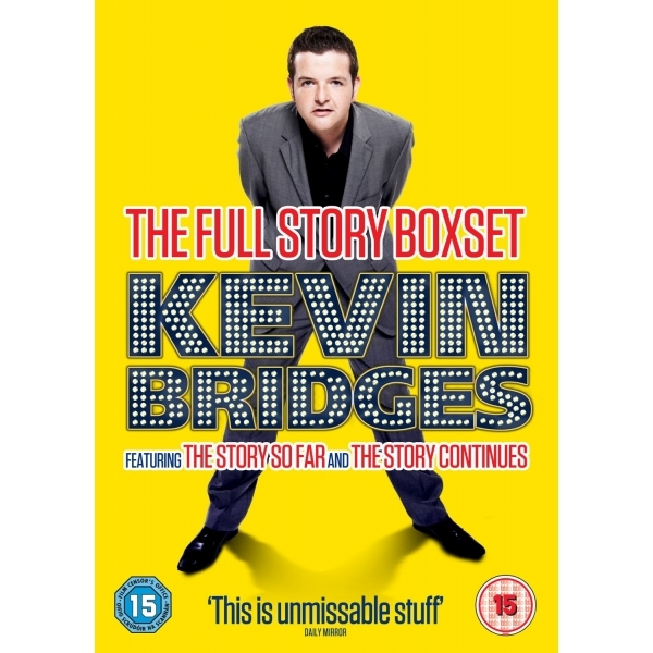 Kevin Bridges: The Full Story Box Set DVD
