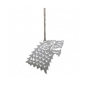 Stark (Game of Thrones) House Sigil Hanging Metal Ornament