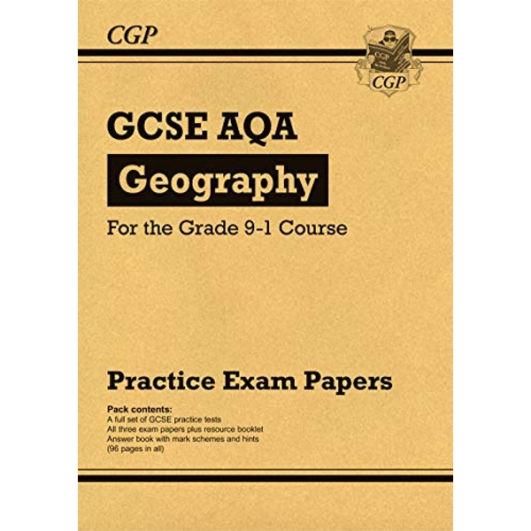 New GCSE Geography AQA Practice Papers - for the Grade 9-1 Course by CGP Books (Paperback, 2017)