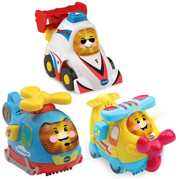 VTech Toot-Toot Drivers - 3 Car Pack Speedy Vehicles