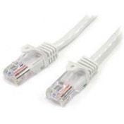 StarTech (1m) Cat5e Snagless UTP Network Patch Cable RJ-45/RJ-45 (White)