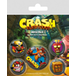 Crash Bandicoot - Pop Out Badge Pack - Image 2