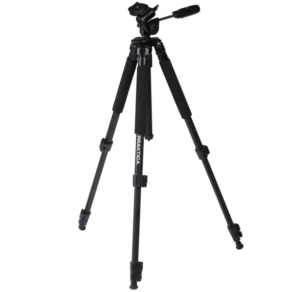 PRAKTICA Full Size 3 Section Tripod