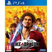 Yakuza Like a Dragon Day Ichi Steelbook Edition PS4 Game