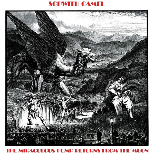Sopwith Camel - The Miraculous Hump Returns From The Moon Red Vinyl