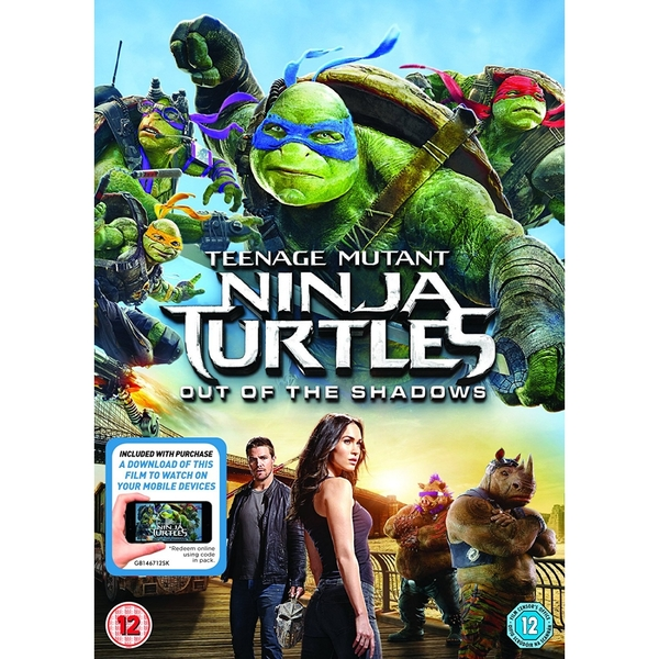 Teenage Mutant Ninja Turtles Out Of The Shadows Dvd Digital Download Shop4hongkong Com