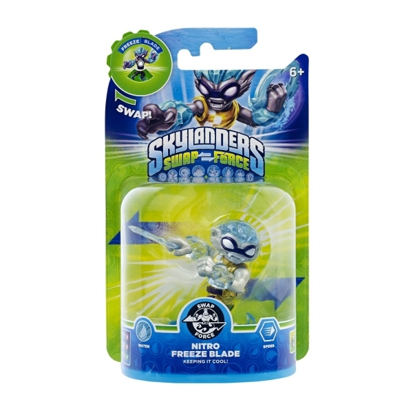 Nitro Freeze Blade (Skylanders Swap Force) Water Character Figure