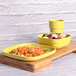 Bamboo Fibre Tableware Bamboo Fibre 4 Cups, Plates & Bowls - Set of 3 | M&W - Image 2