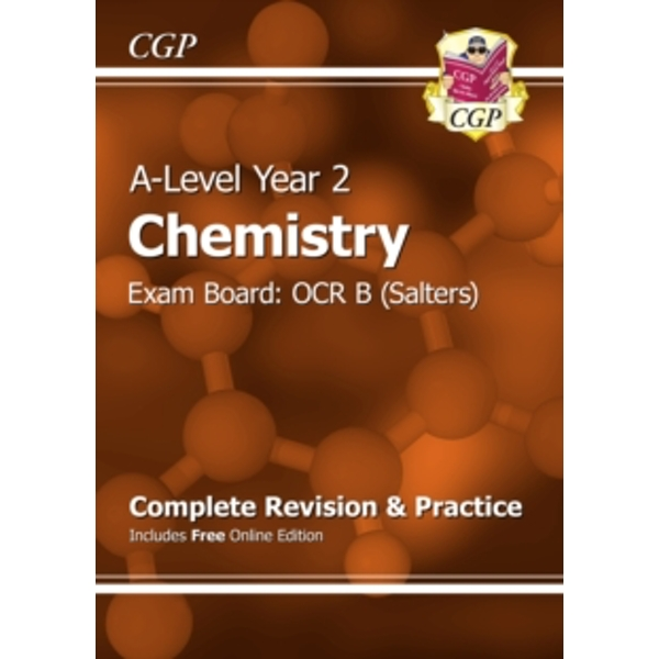 New A-Level Chemistry: OCR B Year 2 Complete Revision & Practice with Online Edition by CGP Books (Paperback, 2015)