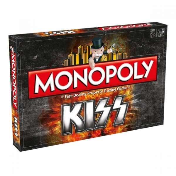 Ex-Display KISS Monopoly Board Game Used - Like New
