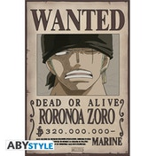One Piece - Wanted Zoro New Small Poster