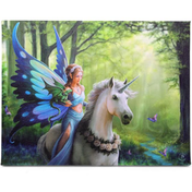 Small Realm Of Enchantment Canvas Picture by Anne Stokes