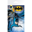Batman Comic Face Key Ring
