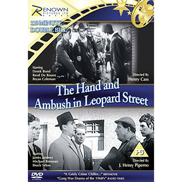 Double Bill DVD: The Hand   The Ambush Of Leopard Street DVD
