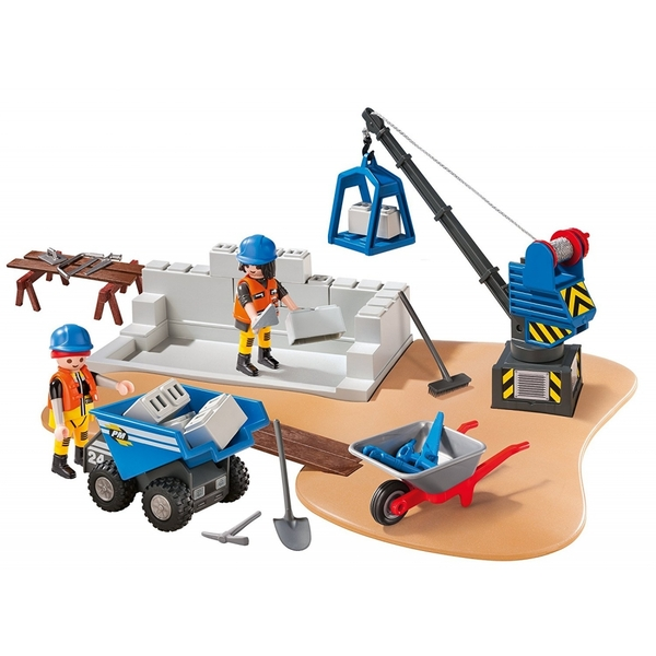 Playmobil City Action Construction Site Super Set - Image 2