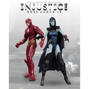 Injustice The Flash vs Raven Action Figure 2 Pack