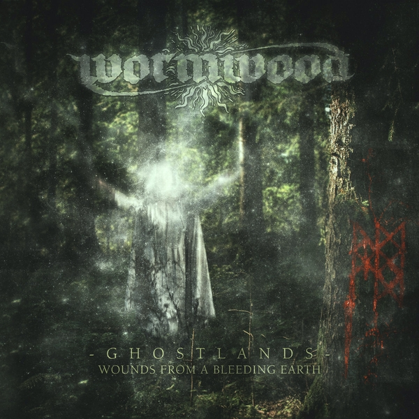 Wormwood - Ghostlands Wounds From A Bleeding Earth Green Vinyl