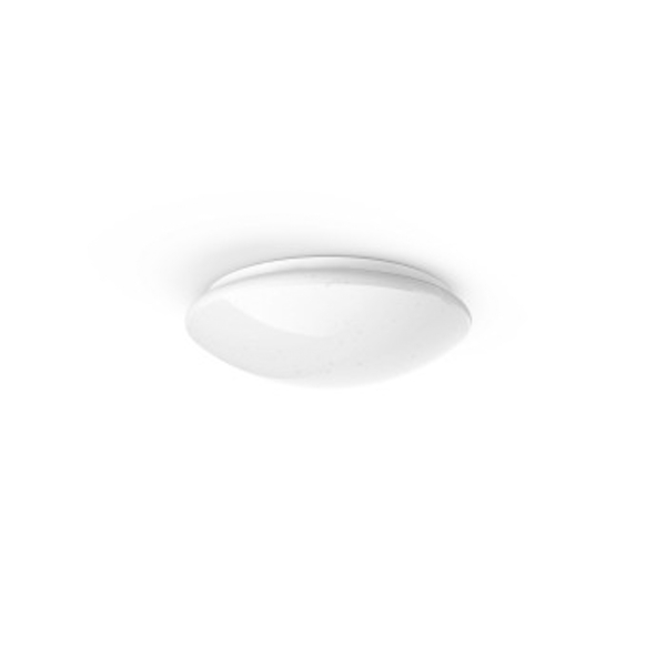 Hama Wi-Fi LED Ceiling Light | Round | Compatible with Alexa/Google Home, app/Voice Control | White Glitter Effect, 10 W