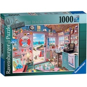 My Haven No.7 The Beach Hut Jigsaw Puzzle - 1000 Pieces