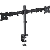 """VonHaus Double Arm Monitor Desk Mount Suitable for 13"""" to 27"""" Tilt and Swivel"""