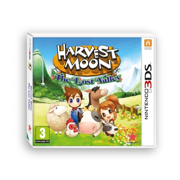 Harvest Moon The Lost Valley 3DS Game