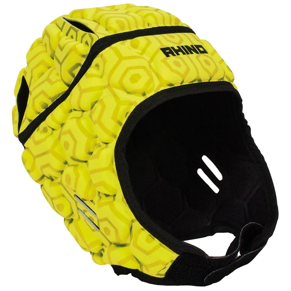 Rhino Pro Head Guard Adult Yellow - Small