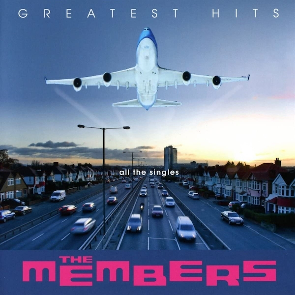 The Members ‎– Greatest Hits - All The Singles Clear Vinyl