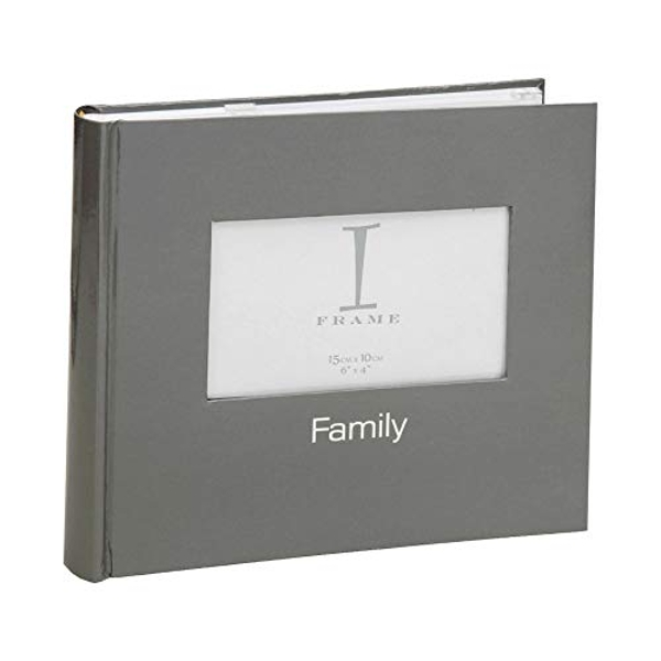 "4""x 6"" iFrame Album with Cover Aperture - Charcoal"