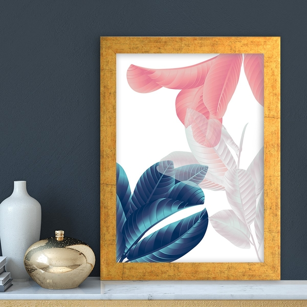 AC7216051841 Multicolor Decorative Framed MDF Painting
