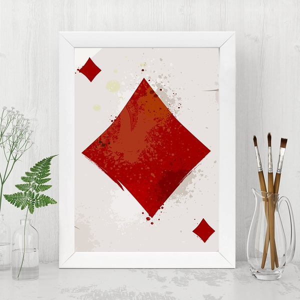 BC1267381583 Multicolor Decorative Framed MDF Painting