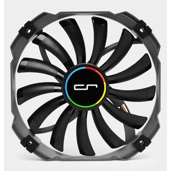 Cryorig XT140 Thin Profile 13mm Thick PWM (700 - 1300 RPM) Fan - 140mm