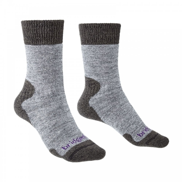 Bridgedale EXPLORER Heavyweight Merino Comfort Women's - Medium Grey