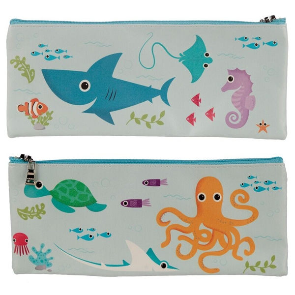 Sealife Design Novelty Pencil Case