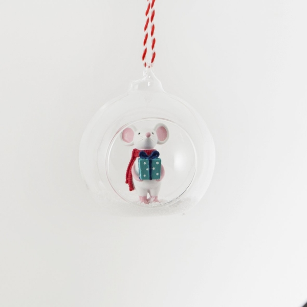 Sass & Belle Christmas Gifting Mouse Open Bauble