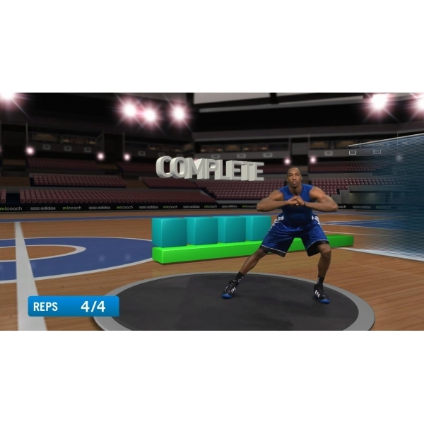 PlayStation Move Adidas miCoach Game PS3 - Image 2