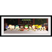 South Park Last Supper Framed Collector Print