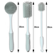 Silicone Cleaning Brushes Grey - Set of 3 | M&W - Image 6