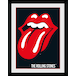 Rolling Stones Lips Collector Print (30 x 40cm) - Image 2