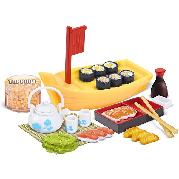 Totally Tiny Cook-N-Serve - Sushi Dinner Playset