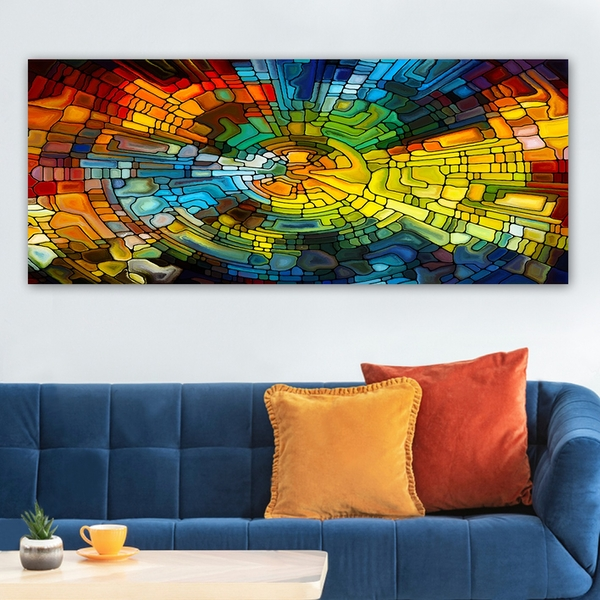 YTY229428385_50120 Multicolor Decorative Canvas Painting