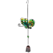 Green Butterfly Windchime