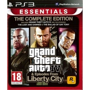 Grand Theft Auto IV 4 GTA Complete Edition Game PS3 (Essentials)