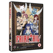 Fairy Tail Collection Three (Episodes 49-72) DVD