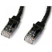 StarTech 1m Black Gigabit Snagless RJ45 UTP Cat6 Patch Cable
