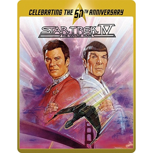 Star Trek 4 - The Voyage Home (Limited Edition 50th Anniversary Steelbook) Blu-ray