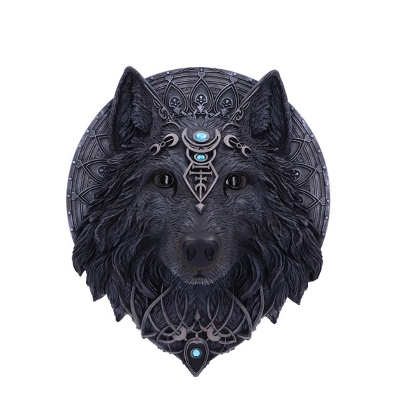 Wolf Moon Wall Plaque