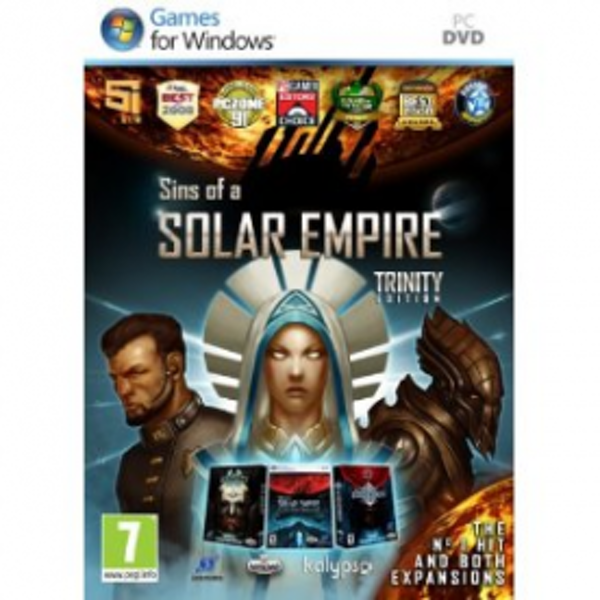 Sins of a Solar Empire Trinity Edition Game PC