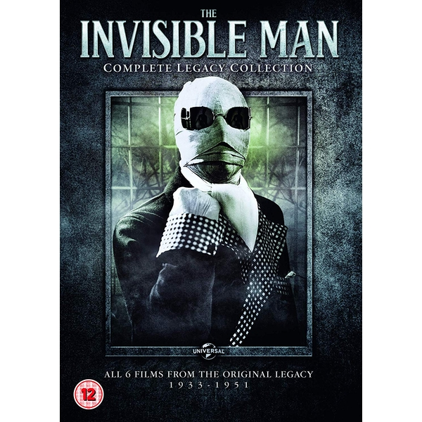 Invisible Man: Complete Legacy Collection DVD