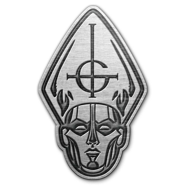 Ghost - Papa Head Pin Badge